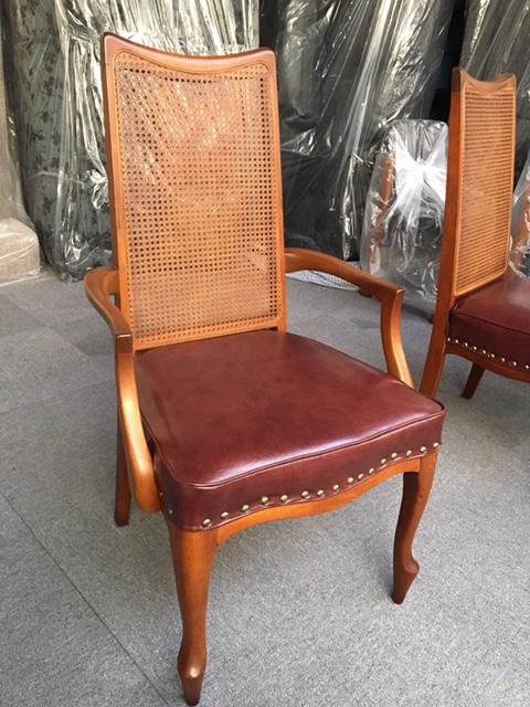 椅子張替修理後