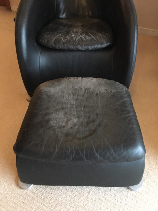椅子修理前